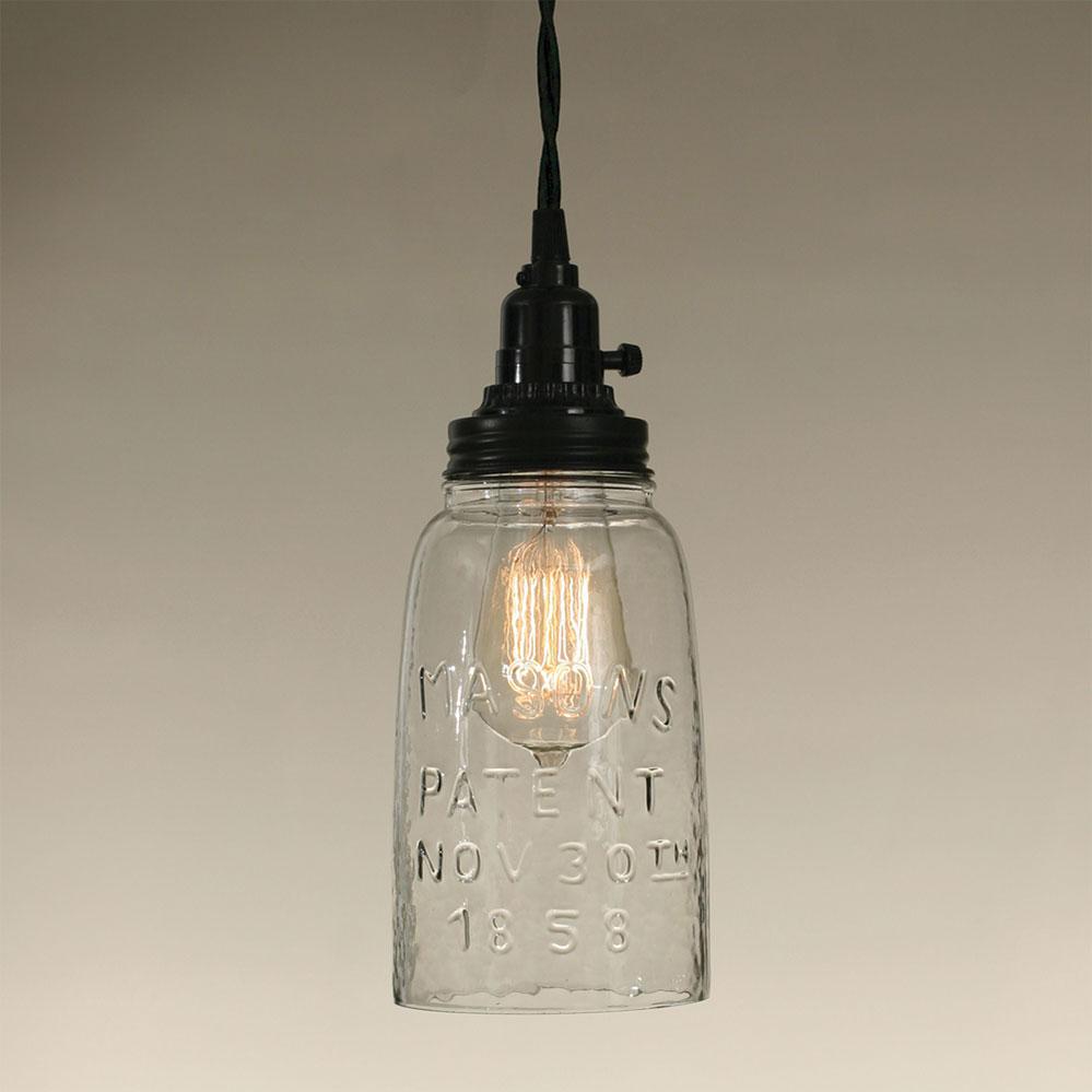 Half Gallon Open Bottom Mason Jar Pendant Lamp Ctw Home Collection